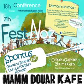 Présentation du projet Demain en Main et soirée Fest-Noz!