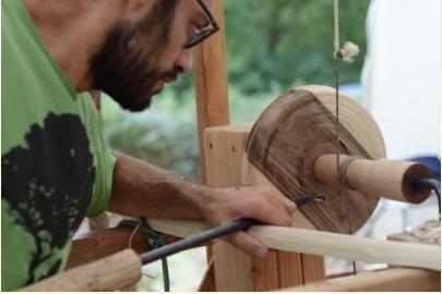 sculpture sur bois vert savoir faire oubliés